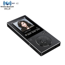 MP3 Player Bluetooth4.0 HiFi Lossless Audio Music Player 8GB/16GB Built-in Speaker 2.4 inch Screen with FM Radio, Voice Recorder