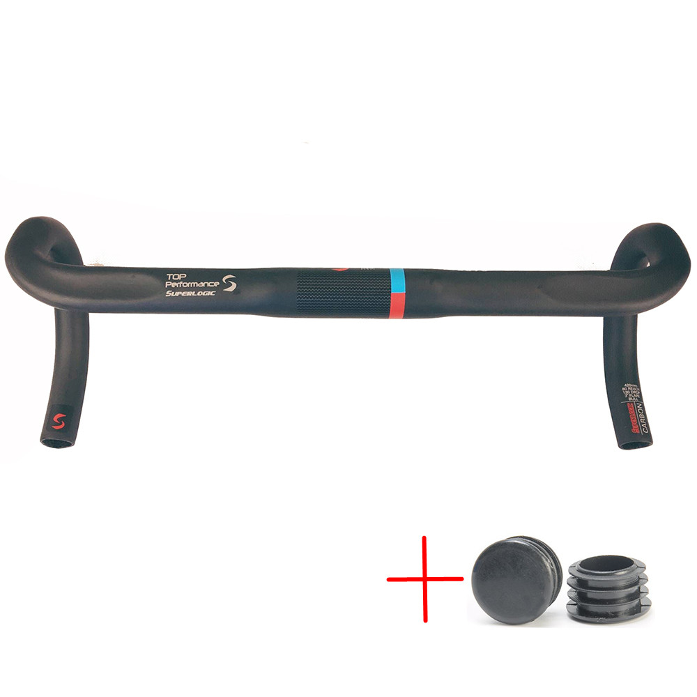 Cycling Bicycle Parts Bicycle Handlebar carbon handlebar road ud cycling parts bent bars 400/420/440/460mm bike handle toseek carbon fiber road bicycle handlebar bicycle bent bar bike handlebar cycling handlebars mountain bikes accessories parts