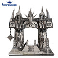 Picture Kingdom 3D Metal Puzzle The Dark Portal Building Model PJ-158 DIY 3D Laser Cut Jigsaw Toys