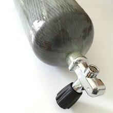 2017 New 6.8L EN12245 300bar 4500psi mini scuba tank composite diving cylinder carbon fiber tank with valve-E