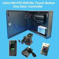 ZK Inbio160 Access Control Panel Fingerprint RFID Door Access Control System 12V5A Battery Function Power FR1200
