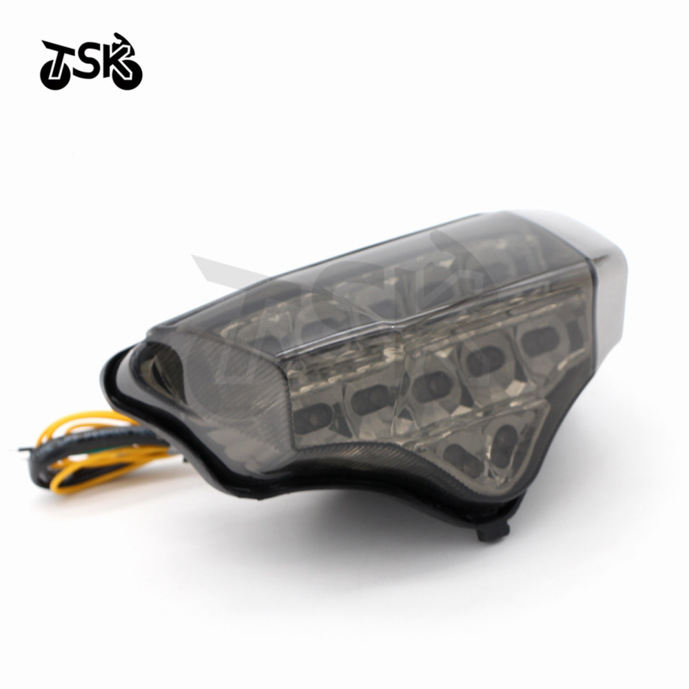 Motorcycler Accessories Integrated LED Tail Light Turn signal Blinker For YAMAHA FZ6 FAZER 2004 2005 2006 2007 2008