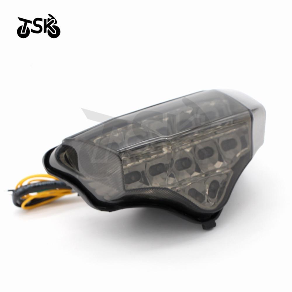 Аксессуары для мотоциклов, интегрированный светодиодный задний фонарь, поворотник для YAMAHA FZ6 FAZER 2004 2005 2006 2007 2008