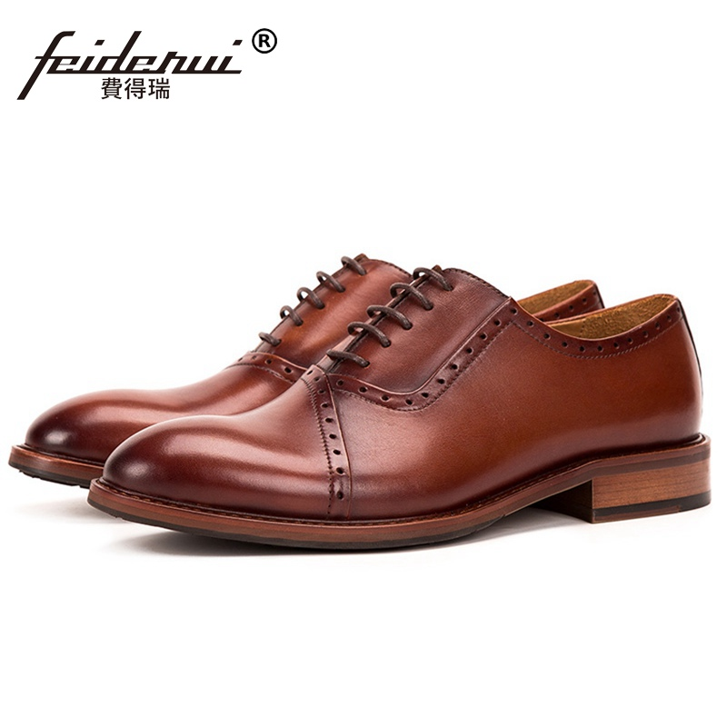 Luxury Brand Pointed Toe Man Formal Dress Brogues Shoes Genuine Leather Medallion Mens Handmade Wedding Party Oxfords SS505Luxury Brand Pointed Toe Man Formal Dress Brogues Shoes Genuine Leather Medallion Mens Handmade Wedding Party Oxfords SS505