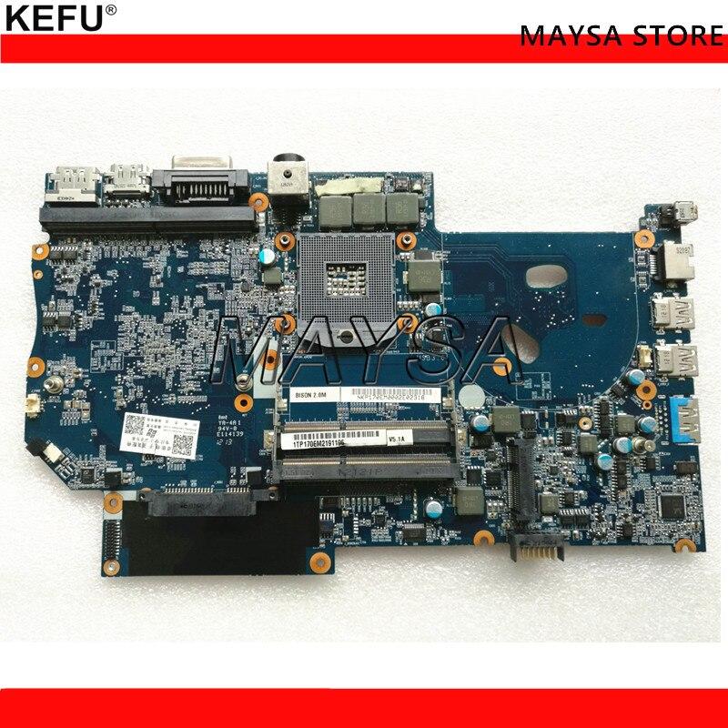 Ordinateurs portables en gros carte mère pour Clevo p170em 6-71-P15E0-D05A DDR3 carte mère 100% testé ok