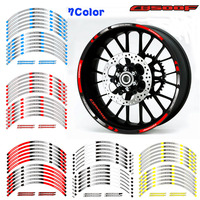 High quality Motorcycle 17inch Rim Wheel Decal Accessory Reflective waterproof Sticker for Honda CB500F CB500X