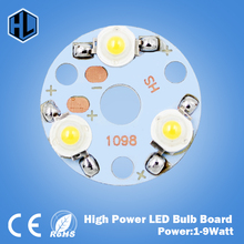 Free Shipping10PCS 1W 3W 5W 7W 9W LED Star HIGH POWER + High Power LED Aluminum Base Plate radiator BLUE/GREEN/WHITE/RED