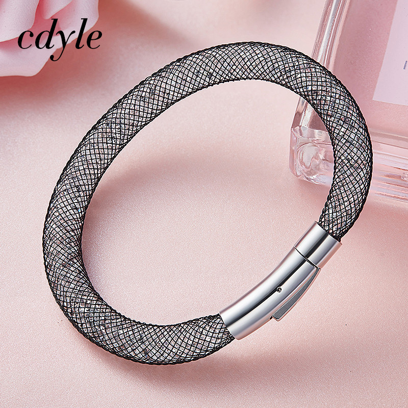 Cdyle Embellished with crystals from Swarovski Luxury Pertionality Bracelet Women Bracelets & Bangle Trendy Elegant Chic Bijous