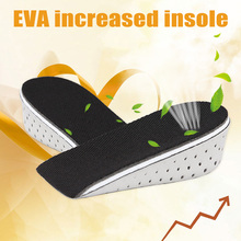 2019 Hot 1 Pair Insole Heel Lift Insert Shoe Pad Height Increase Slow Rising Cushion Taller SMA66 цена и фото