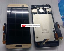 100% testé pour HTC M9 plus écran LCD + écran tactile numériseur assemblée pour HTC M9 plus M9 + affichage pièces de rechange + outils