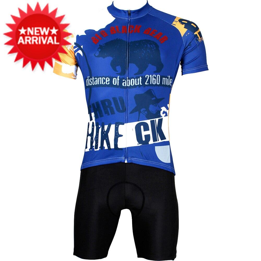 PALADIN Independent design cycling clothing men short Alaska bear design  mountain bike shirt road bike jersey set ropa bicicleta-in Cycling Jerseys  from ... 96ee6d525
