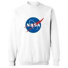 Модные НАСА 4XL Футболка Мужчины Luxury в Марсианской Streetswear Мэтт Дэймон Мужская Толстовки и Кофты для Пар