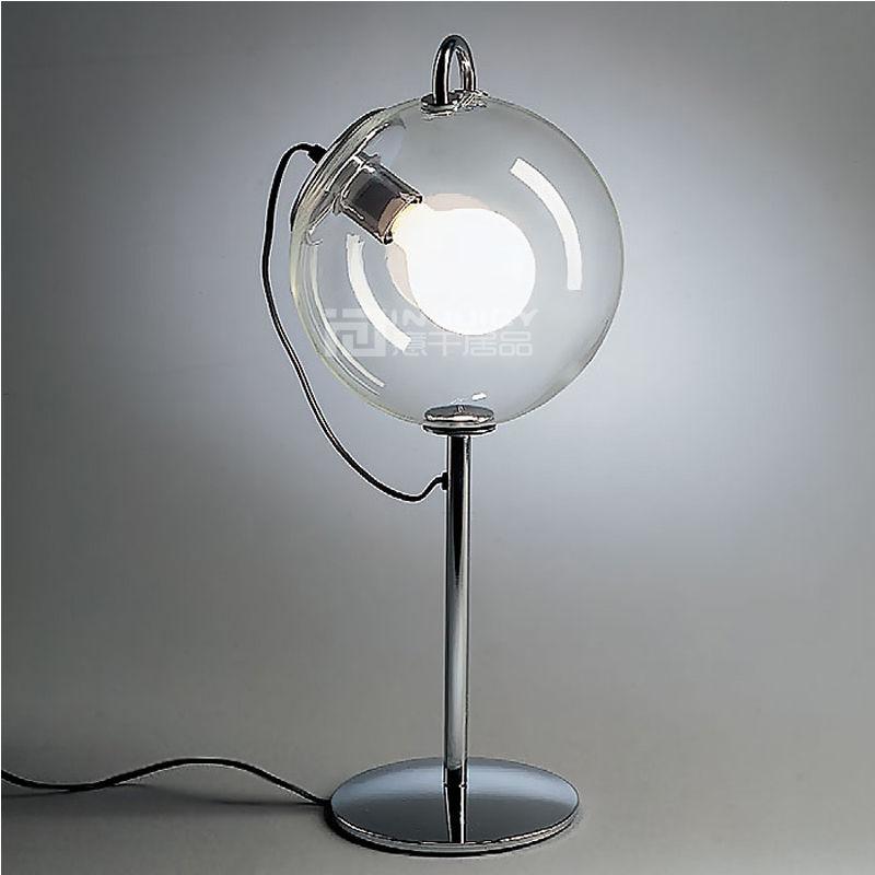 Modern Nordic LED Glass Desk Light Table Lamp Soap Bubble Loft Hall Club Home Corridor Reading Living Room Decor Gift New