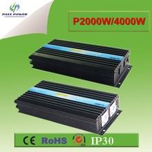DC12v 24 В 48 В к AC 220 В 240 Чистая синусоида 2000 Вт высокочастотный преобразователь