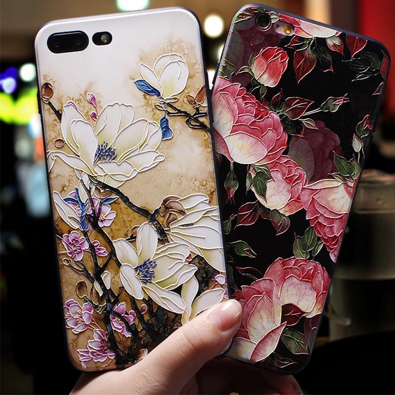 Protective Cover Huawei P9 P10 Mate 10 9 PRO Lite Honor 8 9 Cases 3D Relief Silicone Full Package for iphone X 8 7 6 Plus Case