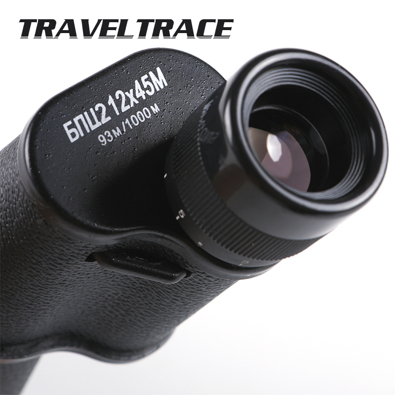 8X30 10X40 12X45 Monocular Powerful Telescope Military Camping Super Hunting Optical Long Range Zoom Quality Scope Professional