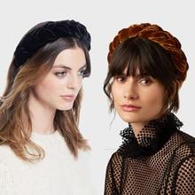 Twist Thick Velvet Hairband