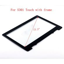 STARDE Replacement Touch For Asus VivoBook S301 Touch Screen Digitizer Glass  + Frame Black  13.3