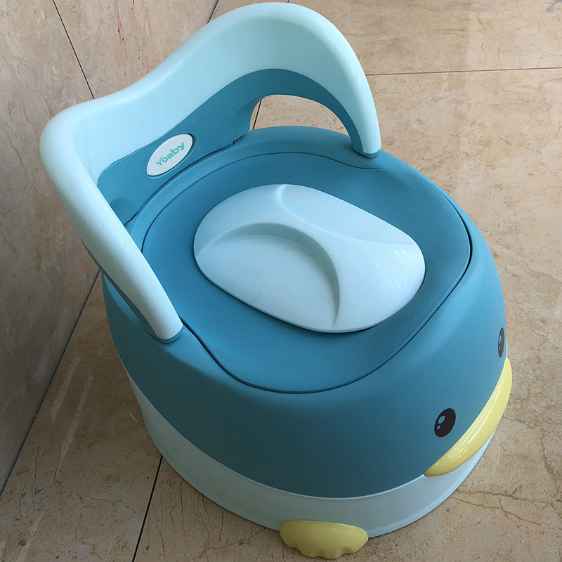 Cute Duck Animal Soft Baby Potty Cartoon Baby Toilet Children's Potty Child Potty Chair Training Girls Boy For Kids Toilet