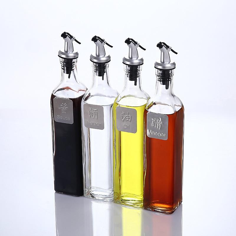 Kitchen Storage Bottles: 500ml Kitchen Oil Soy Vinegar Liquor Sauce Storage Bottle