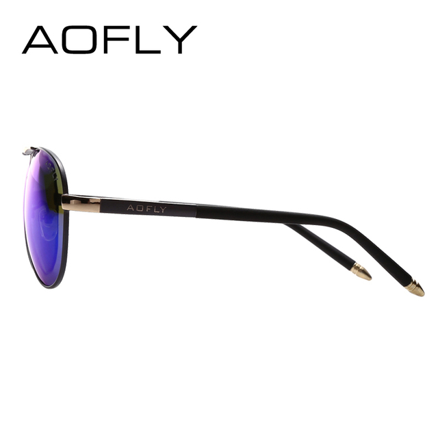 AOFLY Brand Men Sunglasses Fashion Cool Polarized Sports Men Sunglasses Male Driving Sun glasses for men Vintage Gafas De Sol 2