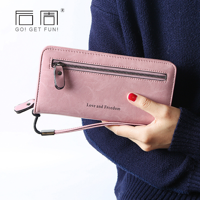High Capacity Long Women Wallets Female Double Zipper Coin Purse Ladies Wristlet Fashion Wallet Clutch Cards Holder PU Leather vintage genuine leather wallets men fashion cowhide wallet 2017 high quality coin purse long zipper clutch large capacity bag