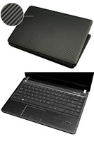 KH Laptop Carbon Fiber Crocodile Snake Leather Sticker Skin Cover Guard Protector For MSI Does Not