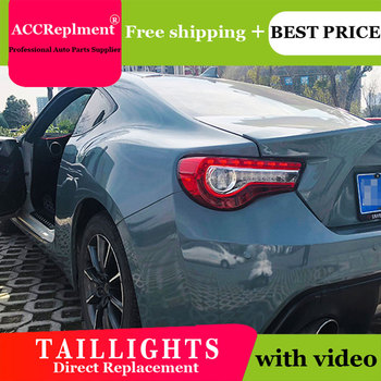 4PCS Car Styling for Toyota GT86 Taillights 2017-2019 for GT86 LED Tail Lamp+Turn Signal+Brake+Reverse LED light