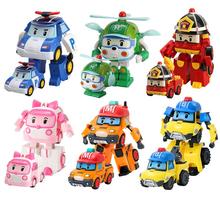 6 stylów koreańskie zabawki dla dzieci Robocar Poli robot transformacyjny Poli Amber Roy samochody zabawkowe zabawki figurki akcji dla dzieci najlepsze prezenty tanie tanio Korea południowa 6 lat Dorośli 14 lat 12-15 lat 5-7 lat 8 lat 8-11 lat Model Wyroby gotowe 12cm Zapas rzeczy Do Not Eat