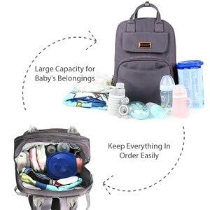 Image 2 - TYRY. HU mumya doğum çantası büyük kapasiteli bebek bezi çantaları popüler Nappy çantaları sırt çantaları anneler
