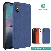 IPhone X Nillkin Flex için Sıvı Silikon Telefon Kılıfı TPU Yumuşak arka Kapak Kılıf iphone X 10 Çapa Shell ile Perakende paket