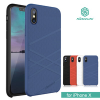 For IPhone X Nillkin Flex Liquid Silicone Phone Case TPU Soft Back Cover Case For IPhone