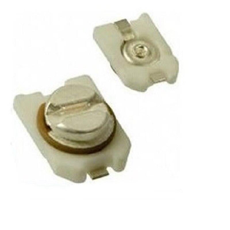 MCIGICM 10pcs 3*4 TZC3P100A110 10pf  Trimmer Adjustable Capacitor
