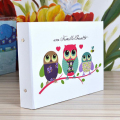 New Brand Quality Scrapbooking Owl DIY Photo Album Creative Gift For Wedding Travel Baby Scrapbook Handmade Albums A4 10 Inch