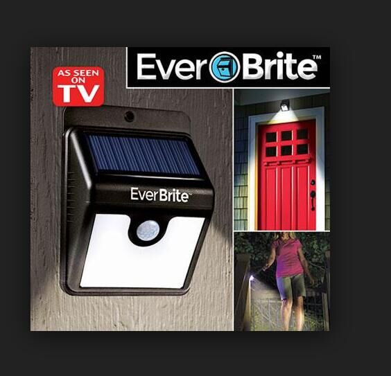 72pcs Hot Solar Energy Ever Brite Outdoor Stick Up Light Motion Activated Lights As Seen On Tv Everbrite Emergency In Lamps From