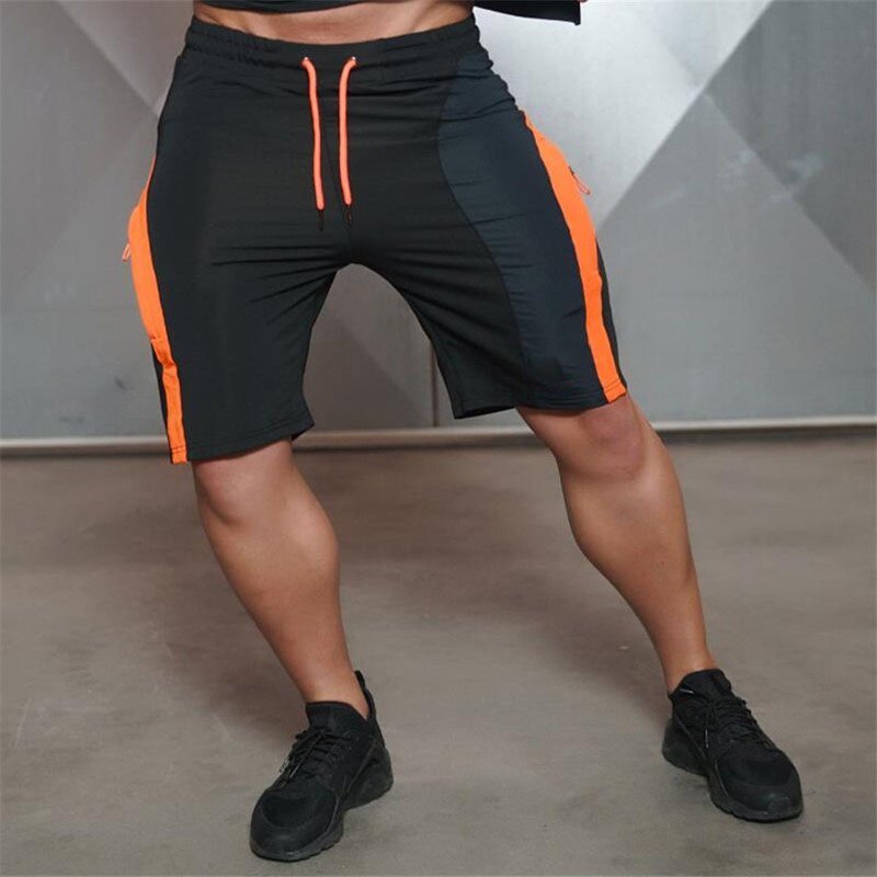 Fashion Engineers Sporting Beaching   Shorts   Trousers Cotton Bodybuilding Sweatpants Fitness Jogger Casual Gyms body Men   Shorts