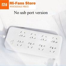 Neue Xiaomi Mijia keine usb Power Streifen 3 6 8 Ports stecker Buchse Power on/off 2500 Watt 10A überlastschutz für office home mihome