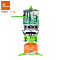 Fire Maple Personal Cooking System Outdoor Hiking Camping Equipment Oven One Piece Portable Gas Stove Burner