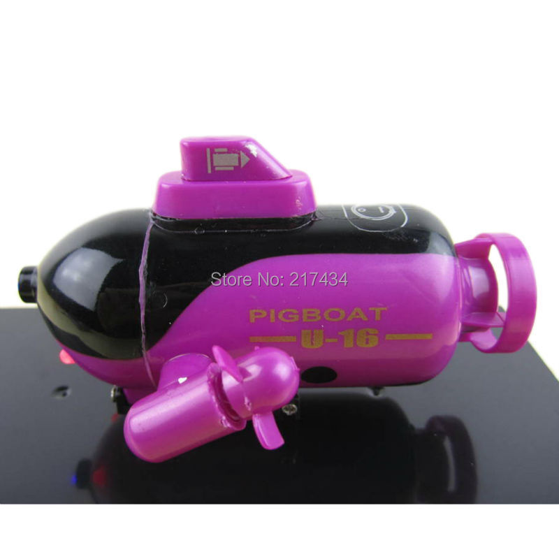 2015 Promotion 777-219 Mini 4CH Remote Control Submarine RC Submarine Gift Toys