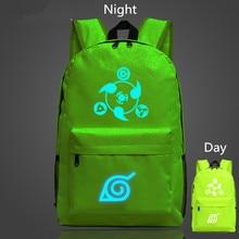 Naruto Luminous Glowing Backpack