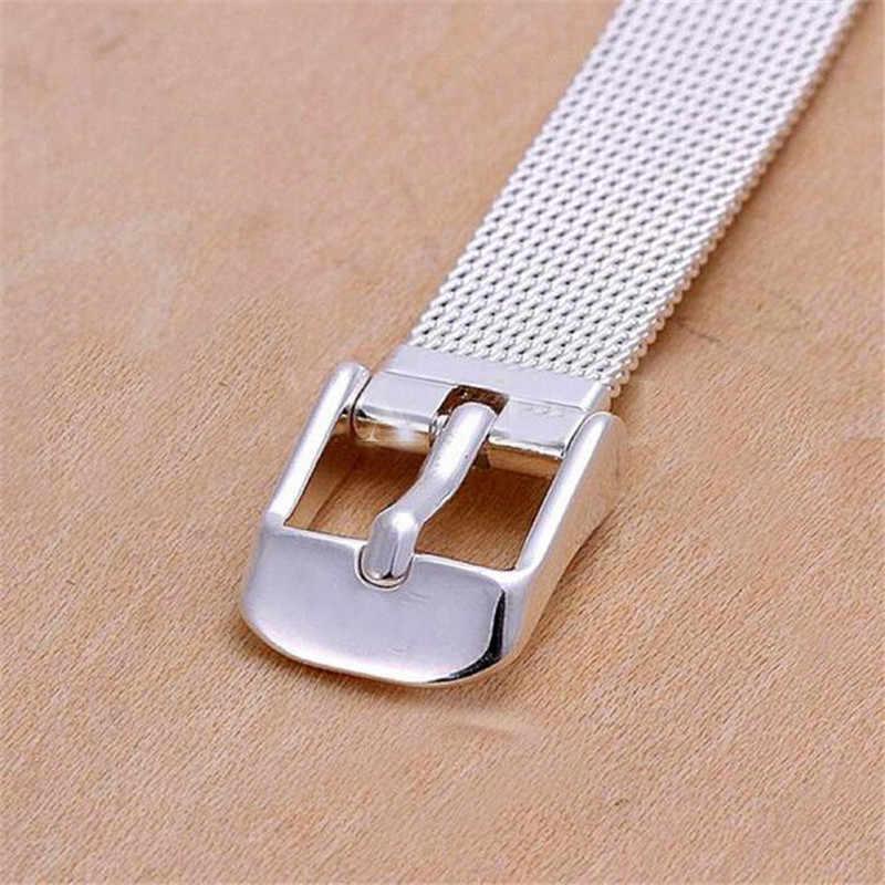 14mm16mm18mm20mm22mm24mm Moda Bracciali In Acciaio Inox Orologio Da Polso Banda Argento Milanese Accessori Per Orologi Cinturino