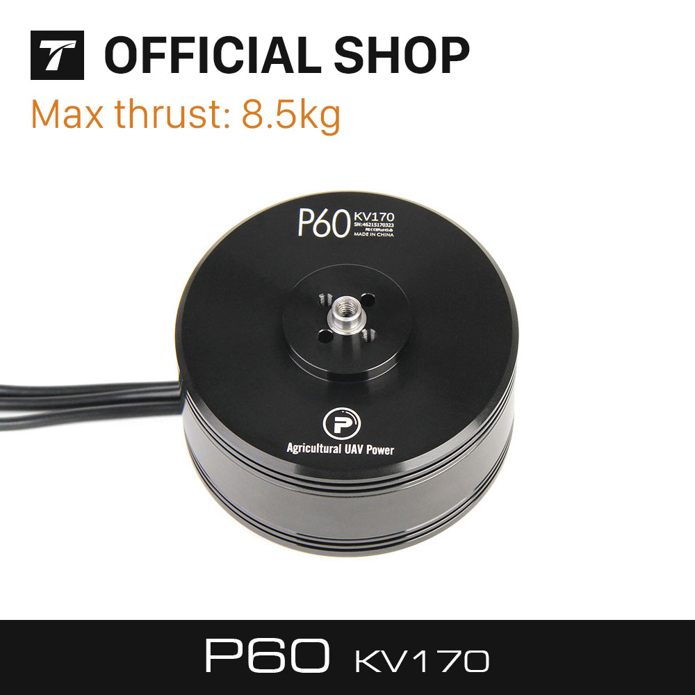 T-MOTOR Fational P60 170KV Of P-Series Brushless Motor for Agriculture Multicopter UAV Drones t motor series mn3515 navigator series