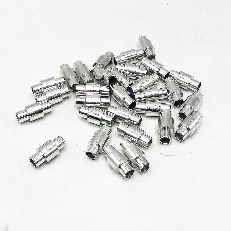 100PCS 6 1 23 5mm 6061T6 Aluminum Alloy Axes For Inline Roller Skates Scooter Hockey Wheels