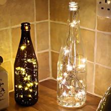 1M wróżka girlanda lampa girlanda żarówkowa LED obsługiwana na świąteczne wesele dekoracja świąteczna tanie tanio ISHOWTIENDA Serce NONE CN (pochodzenie) 12 v