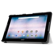 Tri-fold Leather Stand Cover for Acer Iconia One 10 B3-A30