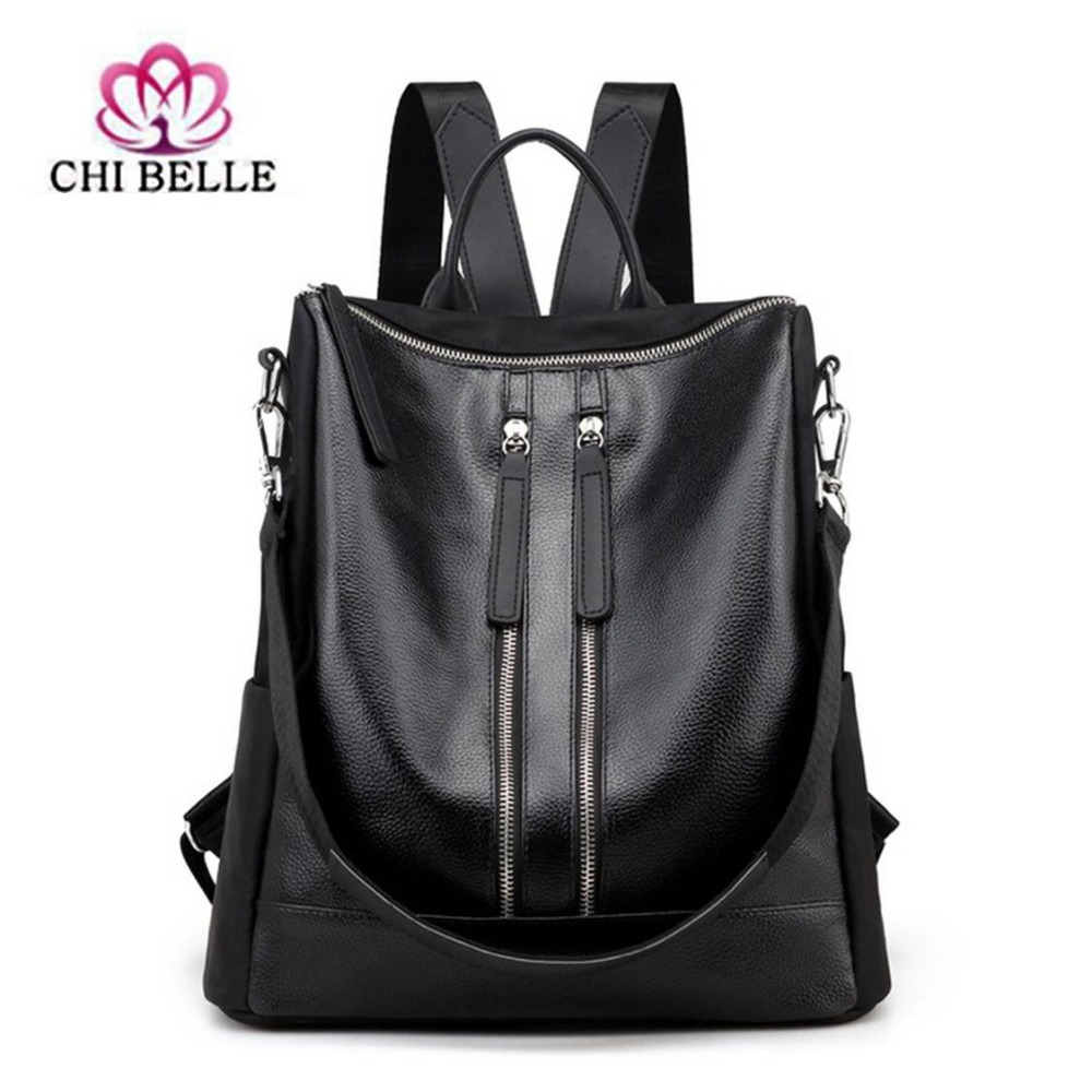 Single shoulder backpack, Europe and the United States version of fashion ladies leisure bag