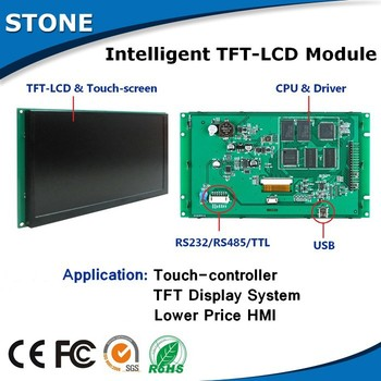 4.3 Inch TFT LCD With RS232/RS485/TTL Interface For Induatrial Use