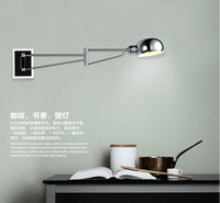 Swing modern wall lamps led Wall Sconce Bedside wall Lights Reading Lights bedroom lamps ajustable Wall Mounted indoor light