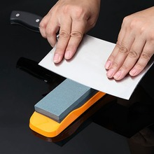 Free shippingYHX Home Portable Practical Knife Sharpener Grindstone With Non-slip Base