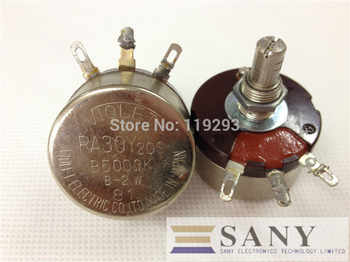 [BELLA]Used Japanese VIOLET RA30Y 20S B500R 2K 4K(4.7k)  10K 17.5K 20K Europe 2W wirewound potentiometers--4PCS/LOT - DISCOUNT ITEM  25% OFF All Category